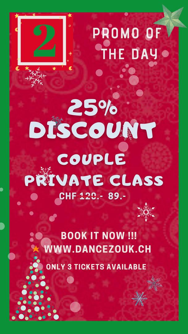 DanceZouk - Advent Calendar - Day 2