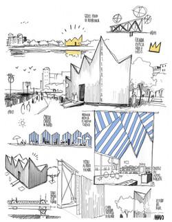 AMANO San Sebastian Info Center Ideas JA Arch