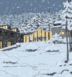 AMANO Museum Alvar Aalto Finland colour JA Architectes