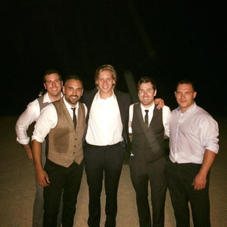 That time George Ezra was a guest at a wedding