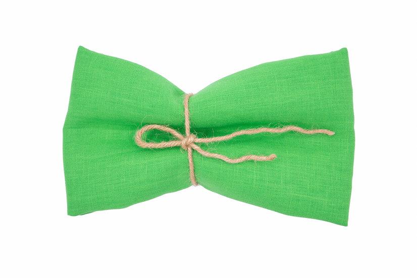 Medium Weight Pure Linen - Lawn Green