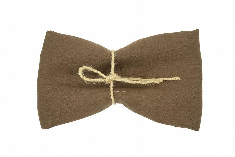 Light Weight Pure Linen - Cedar Brown