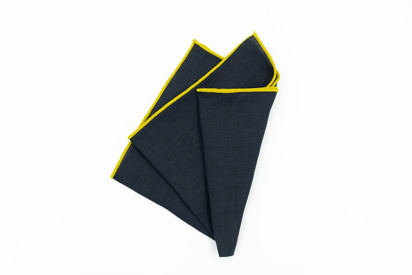 Pocket Square - Dark Navy