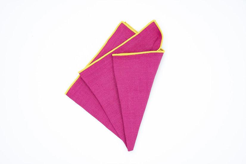Pocket Square - Hot Pink