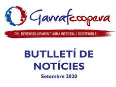 Butlletí de Novetats (Setembre 2020)