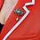 Thumbnail: Austro Hungarian c1905 Ruby, Diamond Pearl and Green Beryl brooch