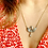 Thumbnail: Victorian Winged Diamond Necklace with Pear drop