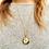 Thumbnail: Vintage Josmar 17 Jewels Etched Pendant Watch