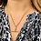 Thumbnail: 18inch 9ct Gold Curb link chain. Removable T bar with clip. Clip fastening