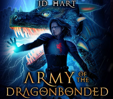 Army of the Dragonbonded audiobook cover