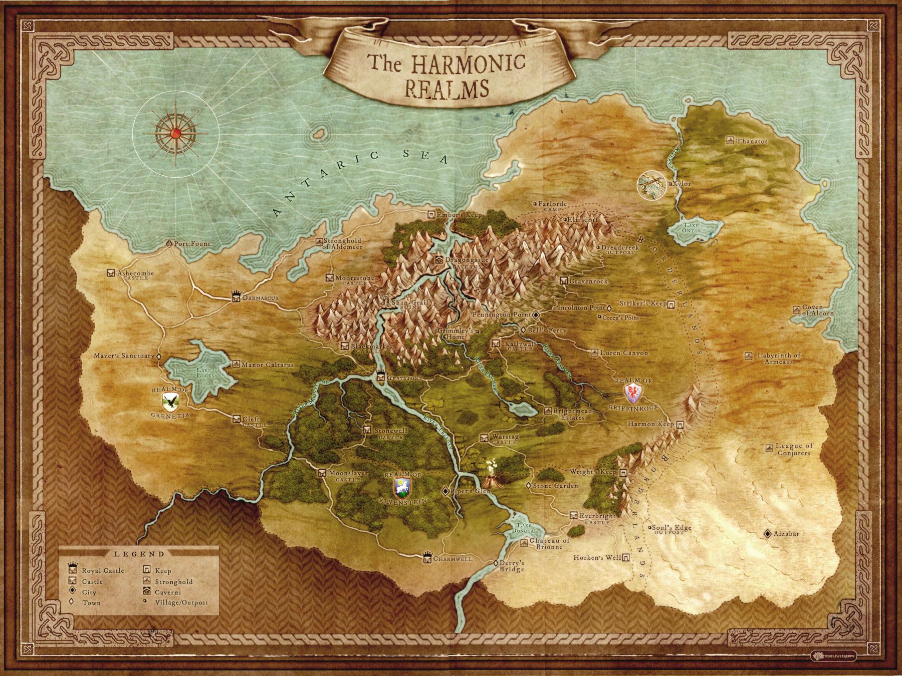 Harmonic Realms (Final) Website