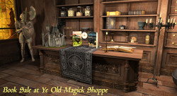 Magic Shoppe Book Sale