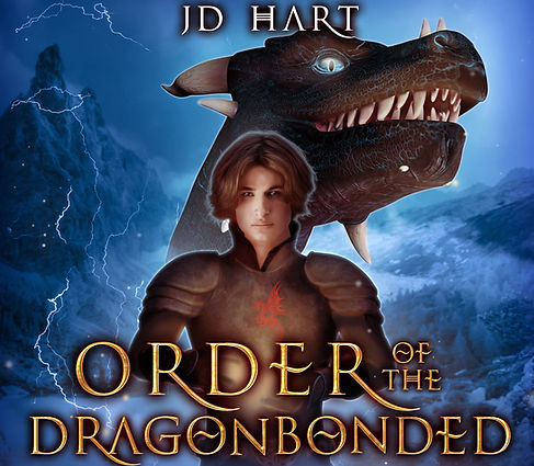 Orderof the Dragonbonded audiobook cover