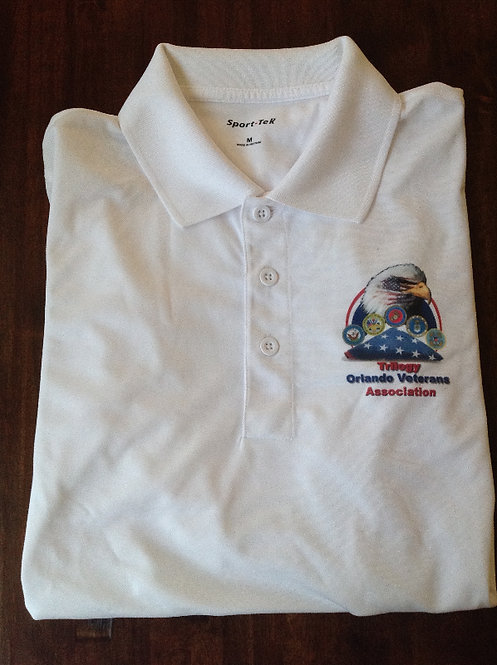 Men's TOVA Short-Sleeved Polo Shirt