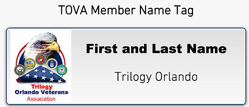 TOVA Name Tag