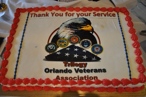 Veterans Day Cake