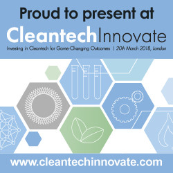 Ashleigh Environmental finalists at CleanTech Innovate 2018