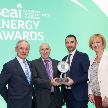 SEAI Sustainable Energy Winner!