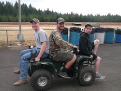 Hunter Hayes, Josh Tiegs, Gage Huber