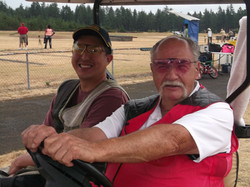 Rudy Martinak and Friend