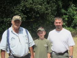 3 generations of Hubers