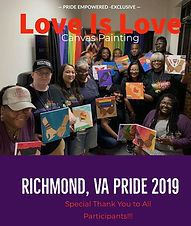 Pride 2019 _Love is Love_ Paint Experien