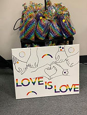 "Pride 2019 ""Love is Love"" Paint Experien"