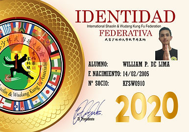 910 WILLIAM PEREIRA DE LIMA  SHIFU VALDE