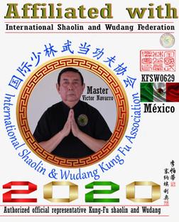 6 Representantes Oficial Shaolin y Wudan