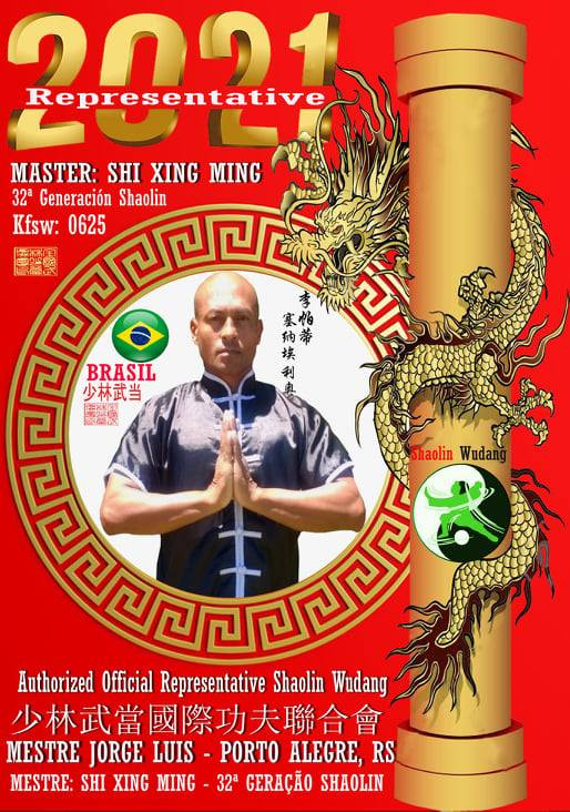 Mestre Jorge Luis, Kung Fu Shaolin Wudan