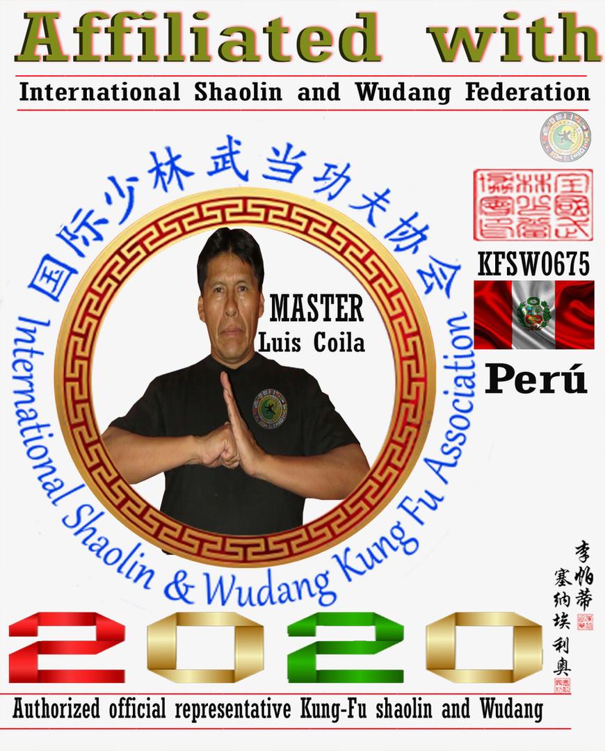 10 Representantes Oficial Shaolin y Wuda