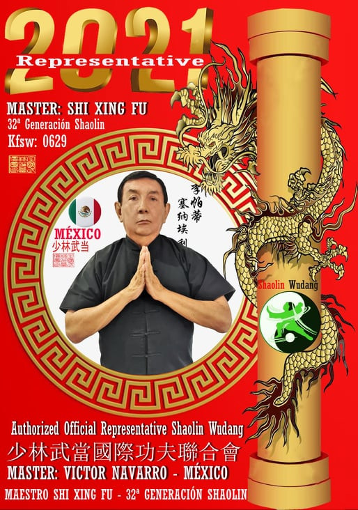 Maestro Shifu Victor Navarro - Shaolin W