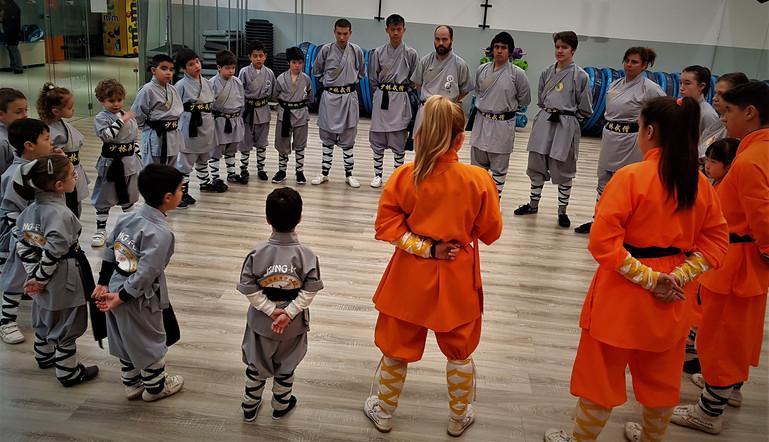 Cursos Kung Fu Forma - Hok Chuan - Forma