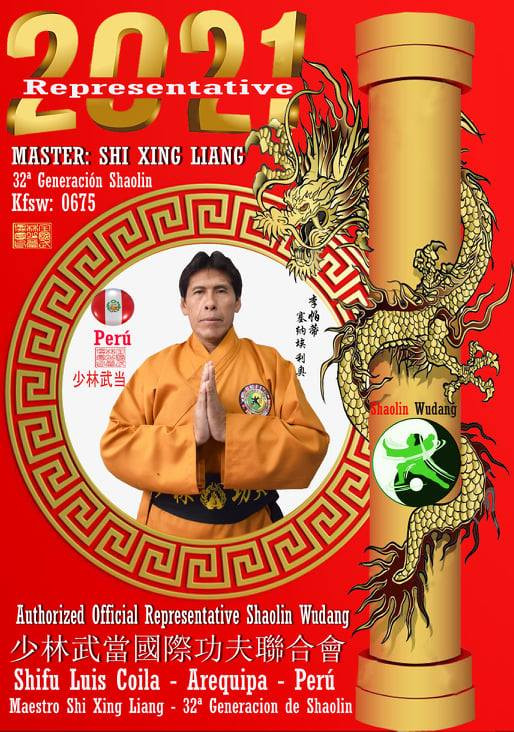 Maestro Luis Coila - Kung Fu Shaolin Wud