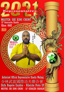 Mestre Rogerio Euzebio - Kung Fu Shaolin
