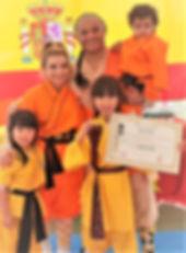 Examen Kung Fu y Sanda 2018 Escuela shao