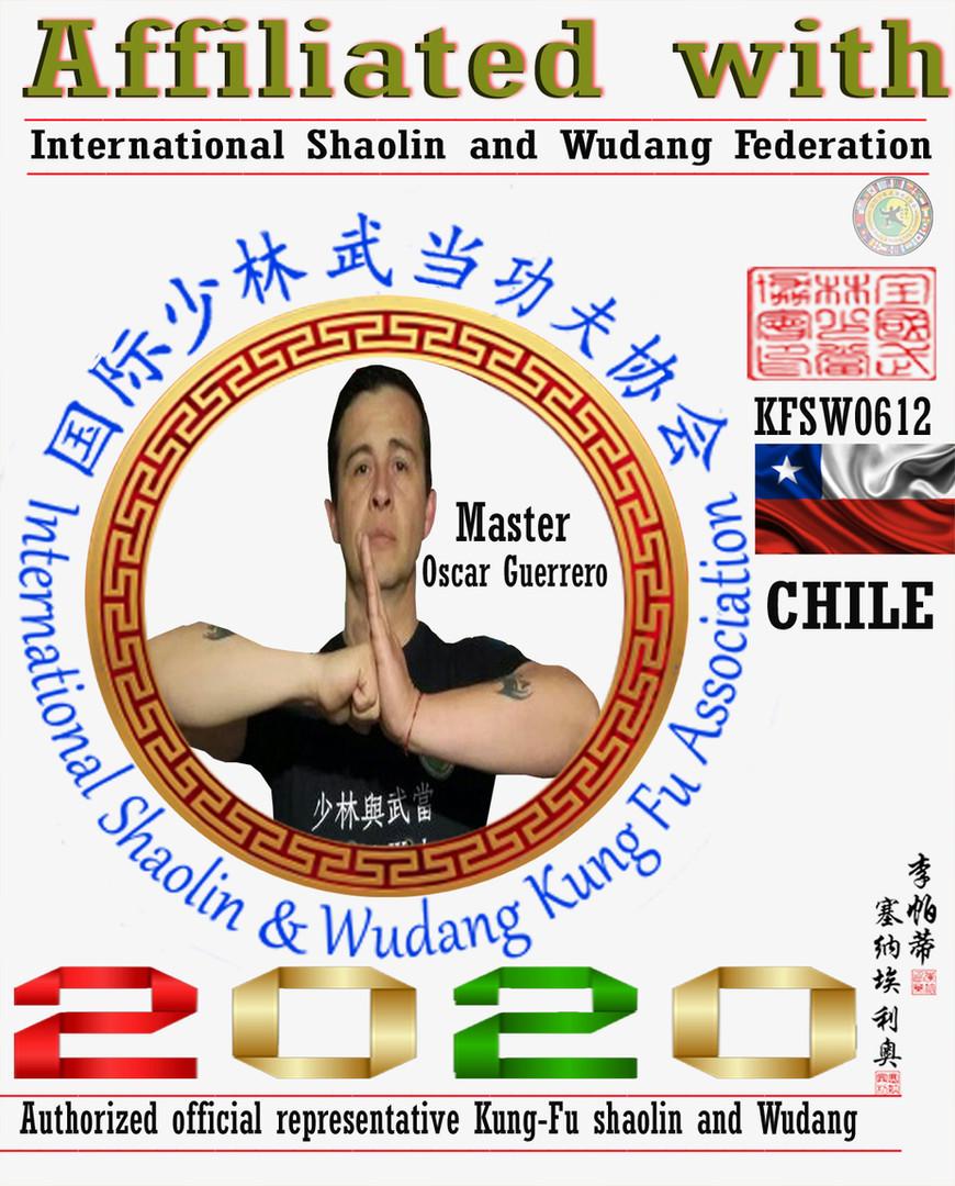 5 Representantes Oficial Shaolin y Wudan