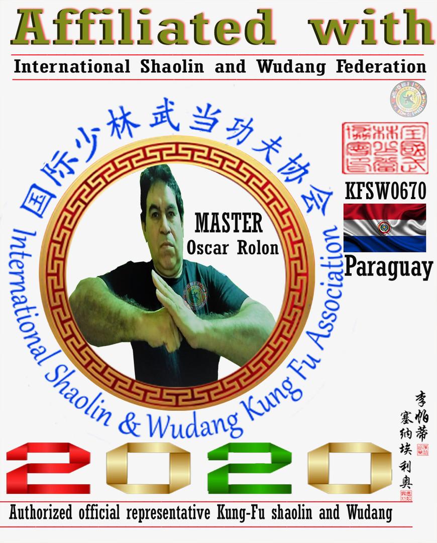 8 Representantes Oficial Shaolin y Wudan