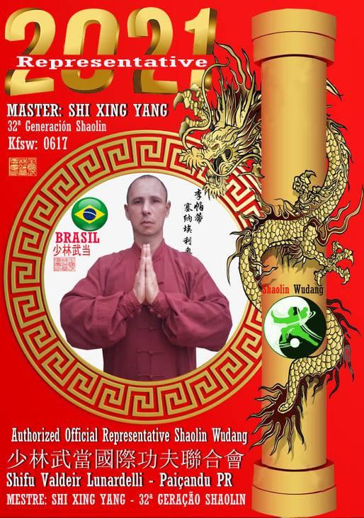 Mestre Valdeir Lunardelli - Shaolin y Wu