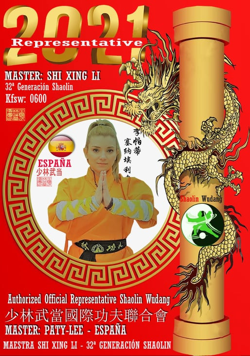 Maestra ShiFu Paty Lee - Shaolin Wudang