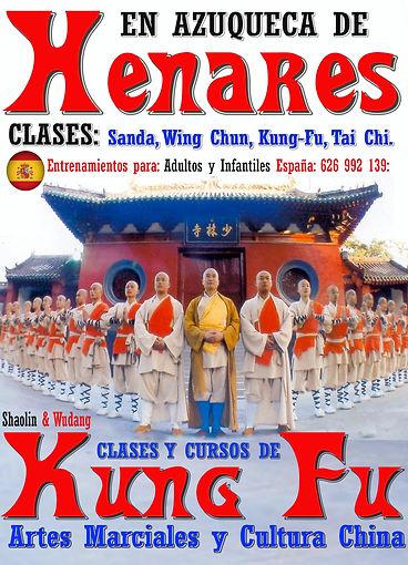 Clases de Kung-Fu en Azuqueca de Henares