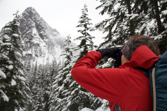 Snowshoe walks teach photo skills for the winter woods