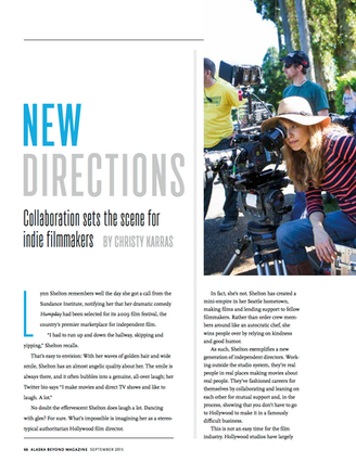 New Directions: collaboration sets the scene for indie filmmakers