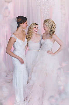 Left to Right Brandi's Bridal Galleria, ETC., Bella Bridesmaids, Gigi of Mequon