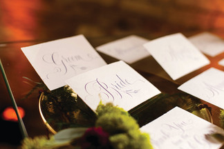 On Trend: Escort Cards