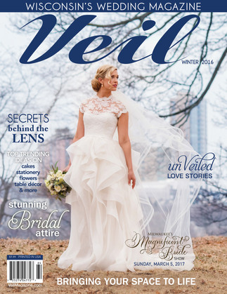 Real Love Story Couple, Sarah & Ryan - Veil Magazine Winter Cover