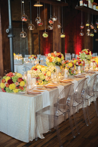 Wedding décor inspiration from professional wedding planners