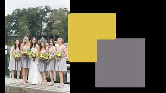Unique Wedding Palate Color Combos