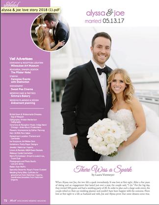 Love Story: Alyssa & Joe #LoveStory #Veil Magazine