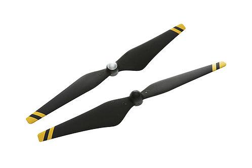 9450 Carbon Fiber Reinforced Self-tightening Propellers (Composite Hub, Black wi